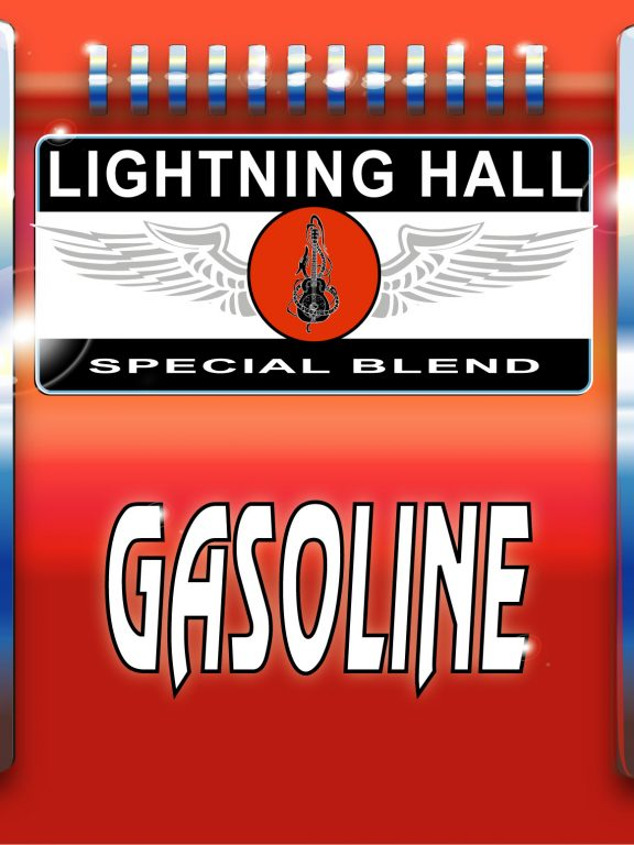 Lightning Hall is proud to announce the release of Gasoline, a ten song collection of original rock, rhythm and blues.